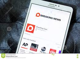 Download Nbc Breaking News App Logo Editorial Stock Photo Image Of Fast