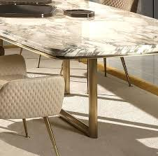 marble dining table high end designer tables