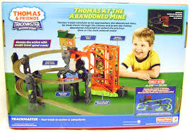 Thomas The Train Tidmouth Shed Trackmaster by Amazon Com Thomas At The Abandoned Mine Train Set Trackmaster