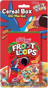 Kelloggs Froot Loops Cereal Box