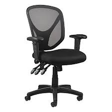 realspace mftc 200 multifunction ergonomic task chair black