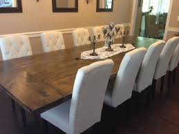 Luxurius Large Dining Tables Diy Restoration Hardware Inspired Rustic Room Table And Love Chairs Ezmffml