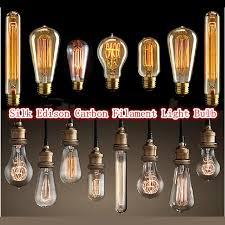 edison antique chandelier bulb light antique vintage edison light