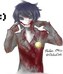 He didn t paint too bloody much and he has a girl s name but he still managed to instantly be e one of my favorite creepypasta characters