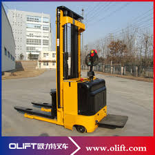 Alibaba Supplier Full Electric Uline Scissor Lift Pallet Truck With CE