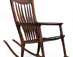 Sam Maloof Rocking Chair Video by Built To Order Sam Maloof Inspired Handmade Rocking Chair