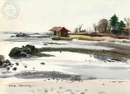 Schlaet Point Westport 1948 art by Har Gramatky