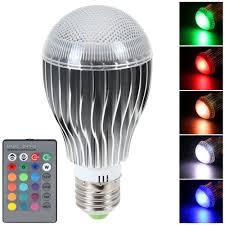 LED 16 Color Changing RGB Magic Light Bulb Lamp SLAPGad s