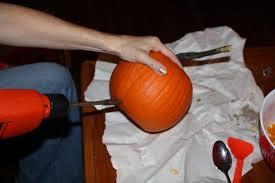 Drilled Pumpkin Designs by Diyf Pumpkin Lanterns Modern Vintage Events
