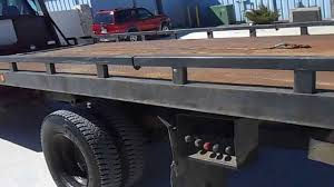 2001 Chevy 6500 With 21ft Steel Rollback Tow Truck Bed - YouTube