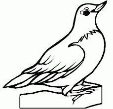State Bird Coloring Page Flat Stanley And Friends April 2013