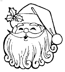 Father Christmas Coloring Book Pages