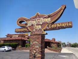 Magic Lamp Restaurant Rancho Cucamonga California by Historic Route 66 Magic Lamp Inn Rancho Cucamonga California
