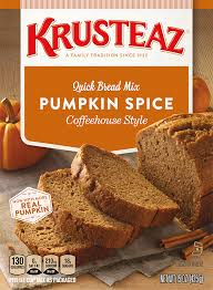Libbys Pumpkin Bread Kit by Pumpkin Spice Quick Bread Mixes Krusteaz