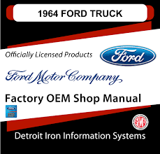 1964 Ford Truck Factory OEM Shop Manuals On CD | Detroit Iron 1964 Ford F100 For Sale Classiccarscom Cc1042774 Fordtruck 12 64ft1276d Desert Valley Auto Parts Looking A Vintage Bring This One Home Restored Interior Of A Ford Step Side F 100 Ideas Truck Hot Rod Network Pickup Ozdereinfo Demo Shop Manual 100350 Series Supertionals All Fords Show Old Trucks In Pa Better Antique 350 Dump 1962 Short Bed Unibody Youtube Original Ford City Size Diesel Delivery Truck Brochure 8