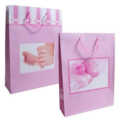 It's In the Bag Girl Baby Shower Gift Bag