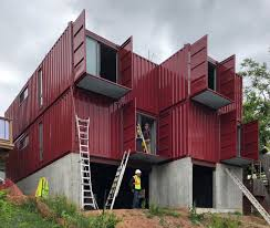 100 Houses Built With Shipping Containers Hamiltons First Container Home Was In A Day