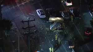 100 Truck Explosion Box Truck Full Of Scrap Metal Explodes On Los Angeles Street Abc13com