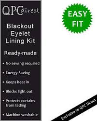 easy fit eyelet ring top ready made thermal blackout heavy curtain