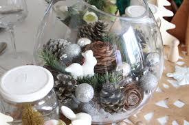 deco noel de table une décoration de tables de fêtes fleurie concours iba