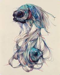 The Colored Pencil Drawings Of Marco Mazzoni Depict Cycles