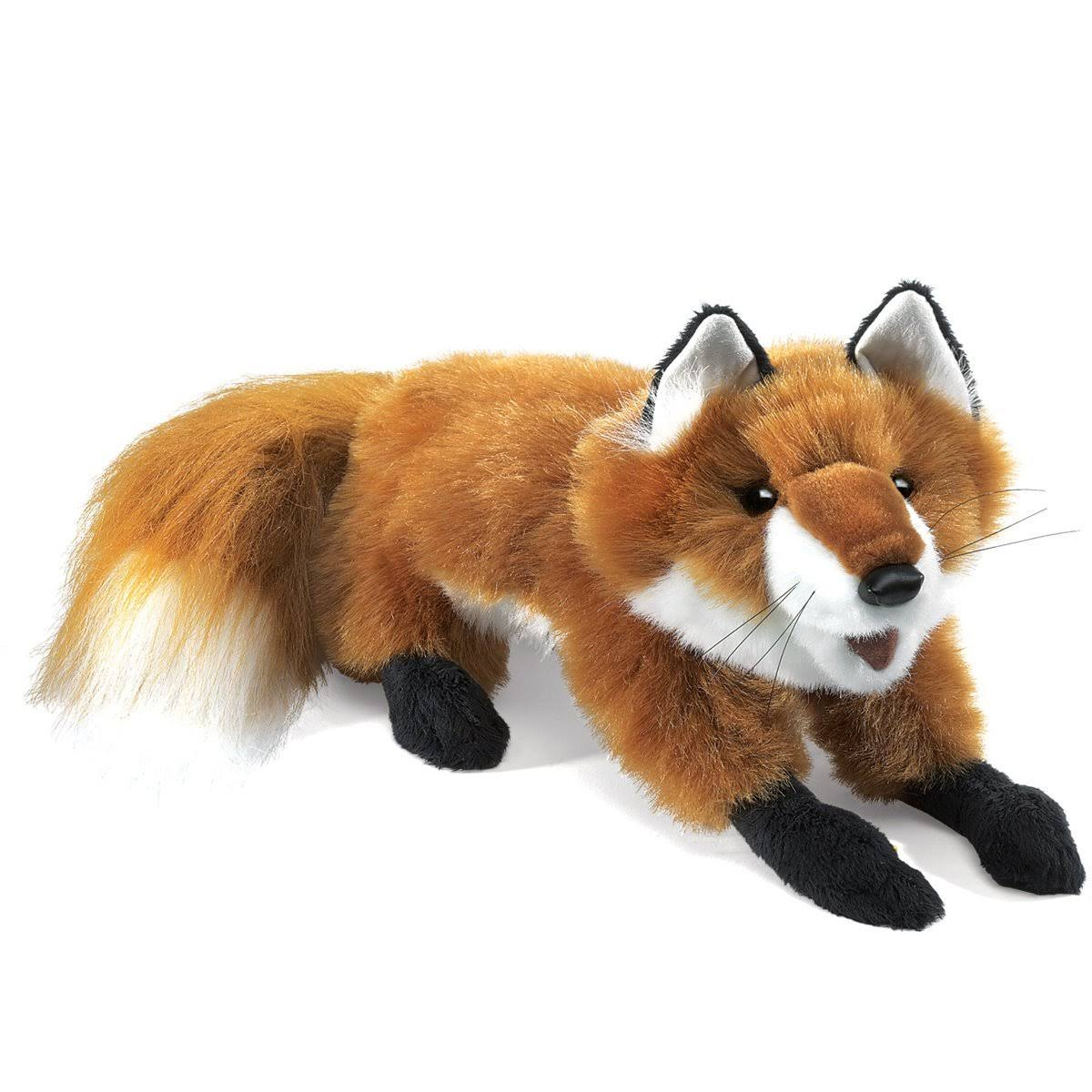 Folkmanis Red Fox Hand Puppet - Small