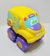 Hasbro Tonka Large Soft Body School Bus Toy Engine Sound 8