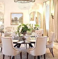 Round Dining Table Decor Amazing Elegant Room Sets Tables For