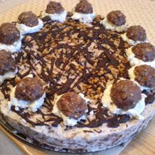 ferrero rocher torte rezept