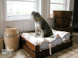Pottery Barn Dog Bed by Pet Bed Diy Building Plans U0026 Tutorial Prodigal Pieces
