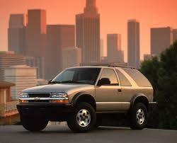 2002 Chevrolet Blazer History, Pictures, Value, Auction Sales ...