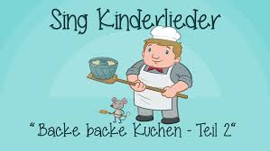 backe backe kuchen teil 2 text noten zum mitsingen