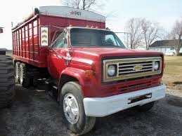 Red Chevrolet C65 Tandem Grain Truck | My Truck Pictures | Pinterest ...