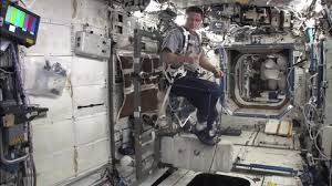 CEVIS Is Very Similar To A Mechanical Bicycle Its Bolted The Floor And Astronauts Snap Their Shoes On Pedals Seat Belt Can Be Used Hold