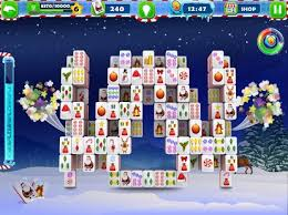 mahjong free santa tiles android apps on play