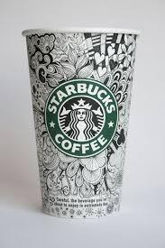 Drawn Starbucks Tumblr Post 14