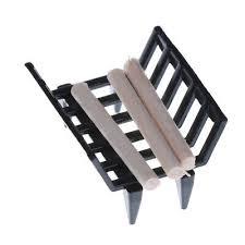 1 12 puppenhaus möbel metall regal mit brennholz fuer