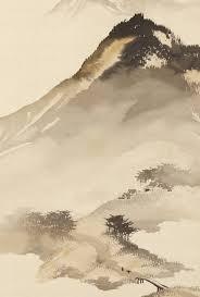 Mountain Landscape With Bridge By Odake Chikuha Japan Chinese