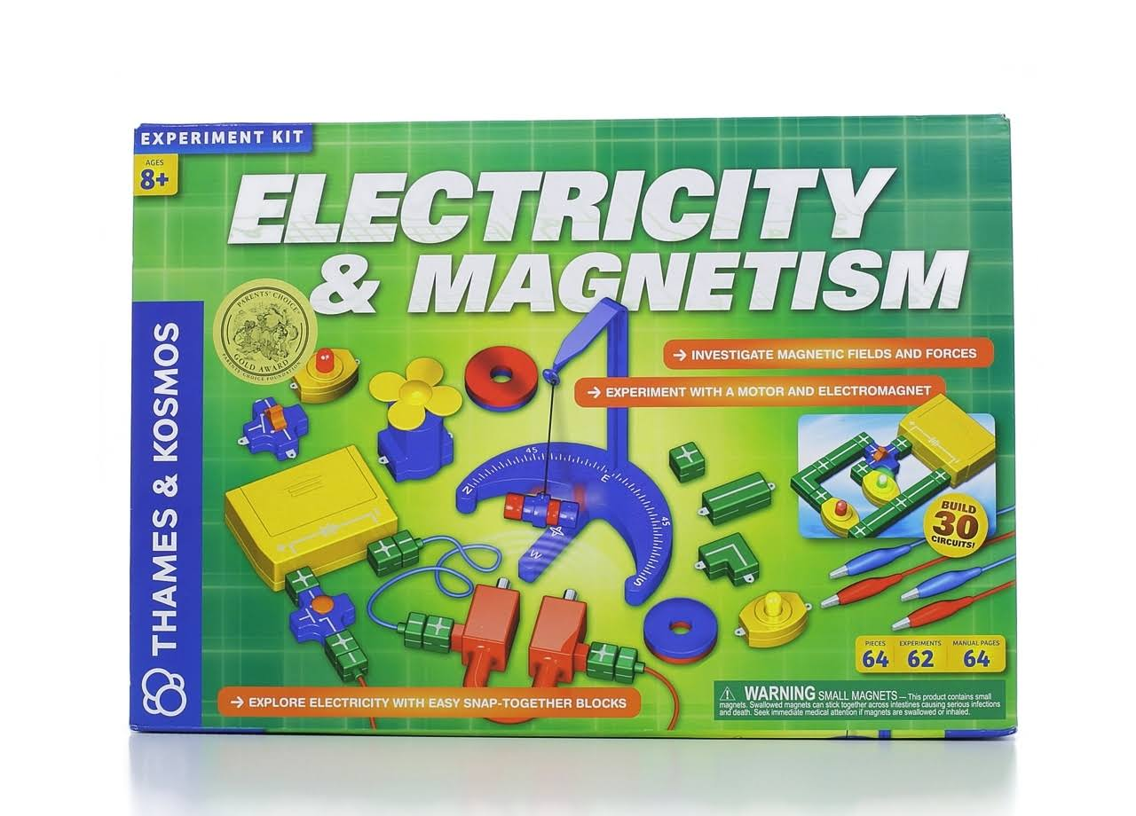 Thames & Kosmos Electricity And Magnetism Experiment Kit
