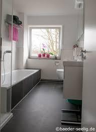 badewanne und dusche im 5 qm bad bäder seelig