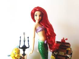 Disney Little Mermaid Bathroom Accessories by Disney Store The Little Mermaid Ariel Deluxe Singing Doll Set