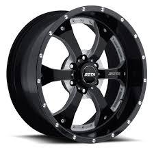 100 6 Lug Truck Wheels OutclassAutocom SOTA 209 Novakane Rims Death Metal