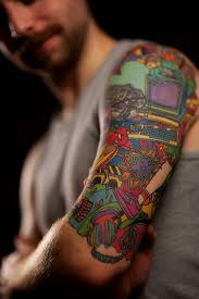 Half Sleeve Tattoos For Girls And Boys25 Nerd Tattoo
