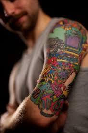 Half Sleeve Tattoos For Girls And Boys25 Nerd Tattoo