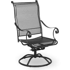 Meadowcraft Patio Furniture Glides by Meadowcraft Alexandria Wrought Iron Swivel Rocker Patio Dining