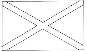 Alabama State Flag Coloring Sheet Typetext