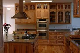 Mills Pride Cabinets Brown Nuance Kitchen with Mullions Glass