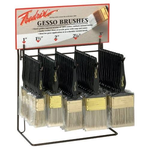 "Fredrix Tara Gesso Brush - 5.5 "", Set of 6"