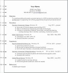 First Time Resume No Job Experience Unique How To Write Work A