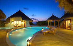 100 Photos Of Pool Houses Wallpaper Sea Bed The Evening Pool Houses The Maldives